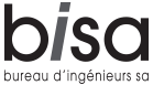 BISA – Bureau d'Ingénieurs SA – Sierre Logo
